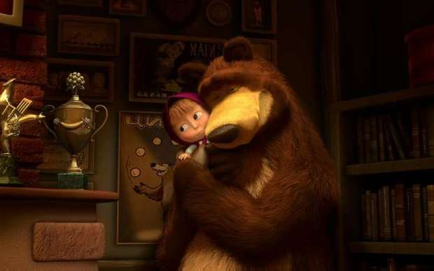 Russian psychologists are concerned about Masha and the Bear series