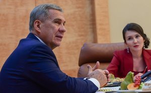 Rustam Minnikhanov to opponents of WIP: 'We haven't decided yet. Why meet with me?'