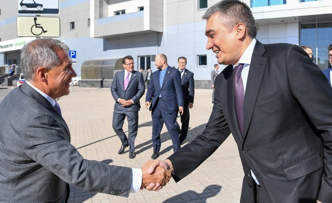 "Rustam Minnikhanov: ""The Uzbek people and Tatar people are a separate and very long history"""