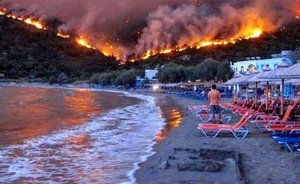 Another 'Fires of Pompeii': how residents and tourists survive in the area of forest fires in Greece