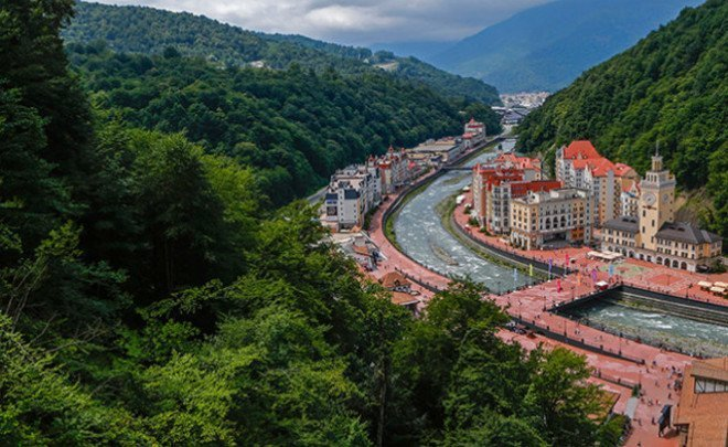 Sochi: resort city and Olympic capital without professional football team
