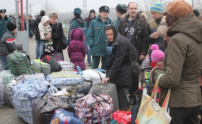 How Ukranian refugees survive without passports, hotels and welfare