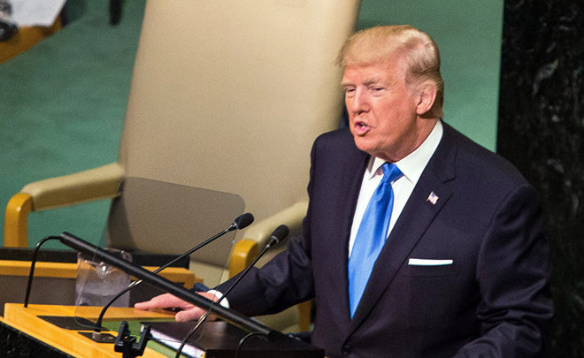 Trump against Rocket Man and for United Nations reform