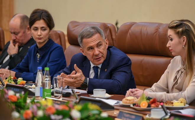 Rustam Minnikhanov: ''Every change and metro station is 4-6 billion rubles''