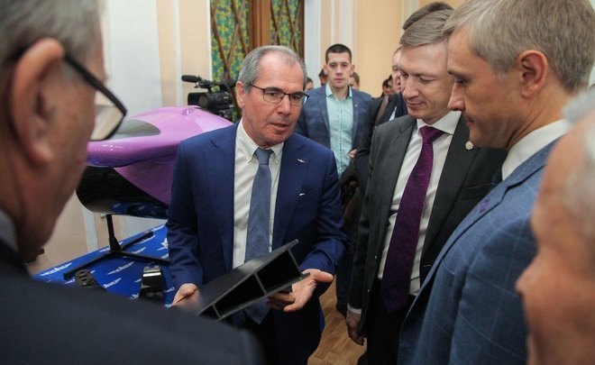"""We should grow seven times"" — Rosatom's subsidiary and KNRTU-KAI open a laboratory of composites"