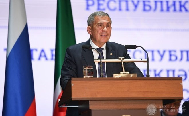 "Rustam Minnikhanov: ""Elections are always a serious exam. There is much work to be done"""