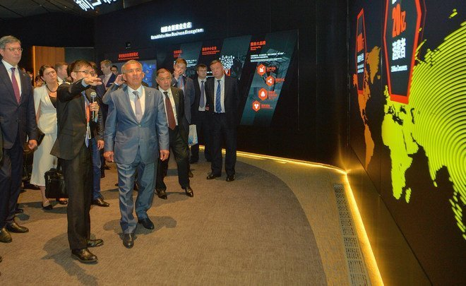 Guests from China: Tatarstan hopes for Chinese loans and help from Alibaba