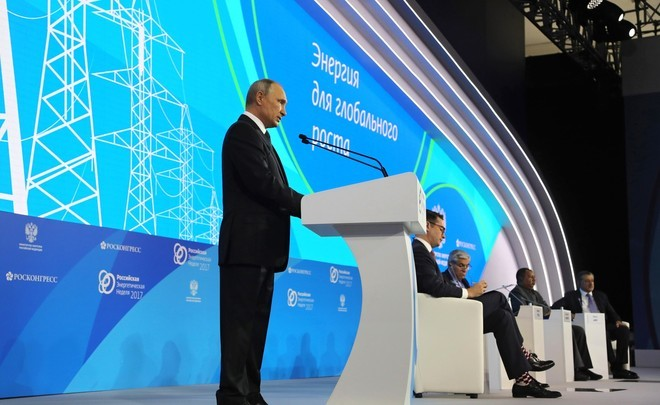 Vladimir Putin: ''Almost two billion people don't have full access to energy sources''