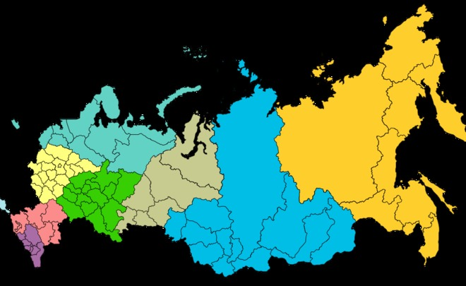 Only ten of Russian regions financially stable