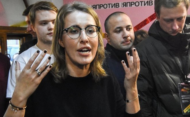 ''Talks about Ksenia Sobchak as president seem to me strange and premature''