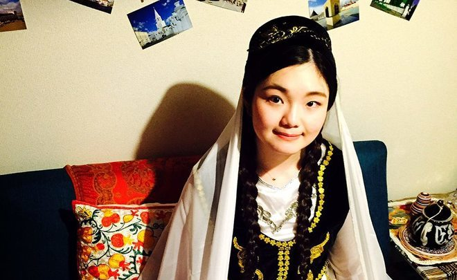 Mizuki Nakamura: ''As a Japanese Tatar girl, I want to conserve the Tatar language for the future''