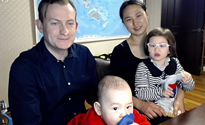 Amusing BBC interview: Pusan University's Prof becomes Internet star because of his children