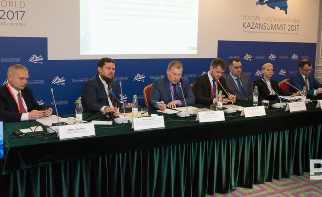 There is a tradition: every year our friends and we discuss Islamic banking at Kazansummit…