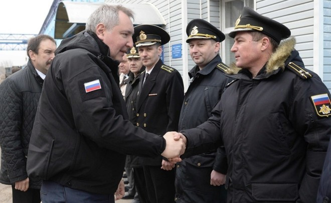 Rogozin lays the keel of Grad and urges to start production of ship engines in Tatarstan - Realnoe vremya