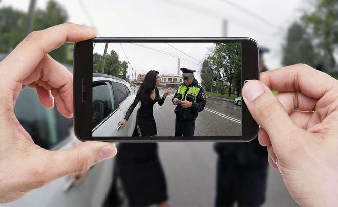 Don't shoot, I'm embarassed: drivers to be banned photo and video recording of traffic cops