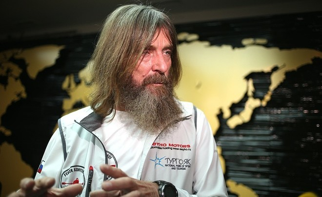 Fyodor Konyukhov: ''If you go down Everest, your mind changes''