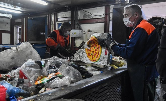''30% of useful resources can be extracted from garbage in Kazan. But it is unrealistic to do''