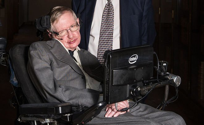 ''Stephen Hawking dedicated all his life to studying the universe, moreover, thoroughly''
