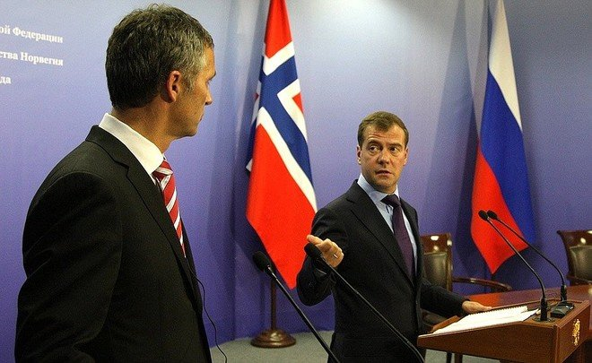 Norway keeps eye on Russian drilling in Arctic