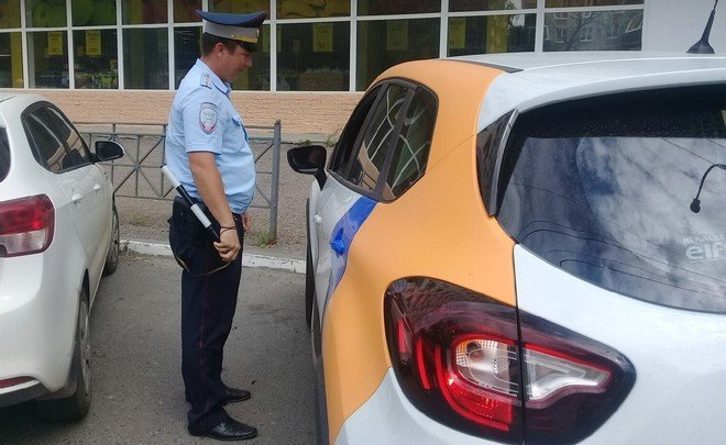 Traffic police threatens Yandex.Drive with sanctions