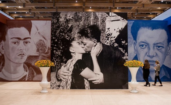 Without public excitement: exhibition of Kahlo and Rivera in Moscow Manege