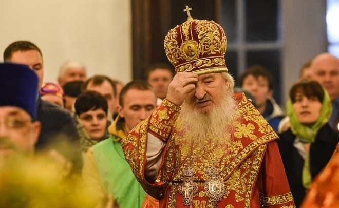 Metropolitan Feofan: ''It's not a colourful show!''