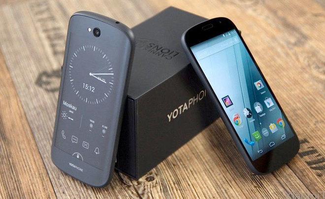 ''Political'' smartphone: YotaPhone 3 presented in China