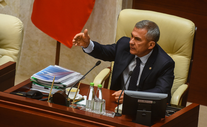 Rustam Minnikhanov: ''How can the state language be voluntary?''