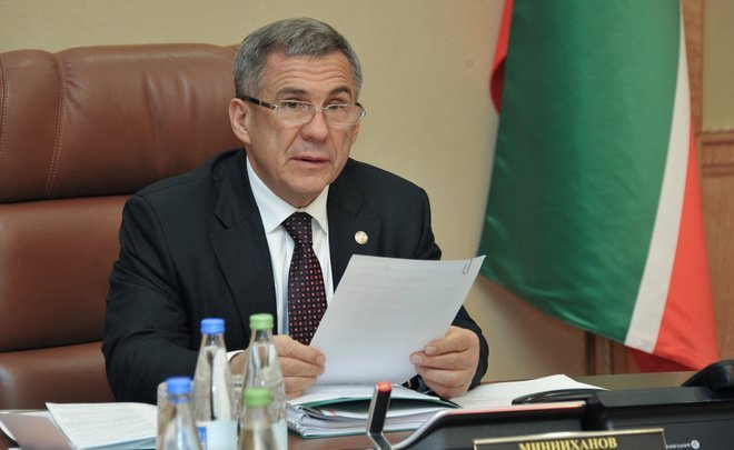 Rustam Minnikhanov: ''Whatever they say about Lenin, he did not sell the country''