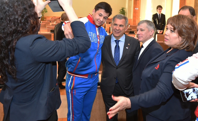 ''Don't you dare to have a sense of grandeur!'' What else Rustam Minnikhanov told at the meeting with athletes