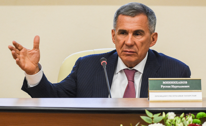 Rustam Minnikhanov: ''Results of the whole Republic would look differently without TAIF's system work''
