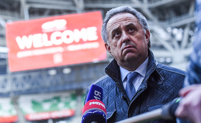 ''Keep off the grass!'': how Vitaly Mutko inspects Kazan Arena