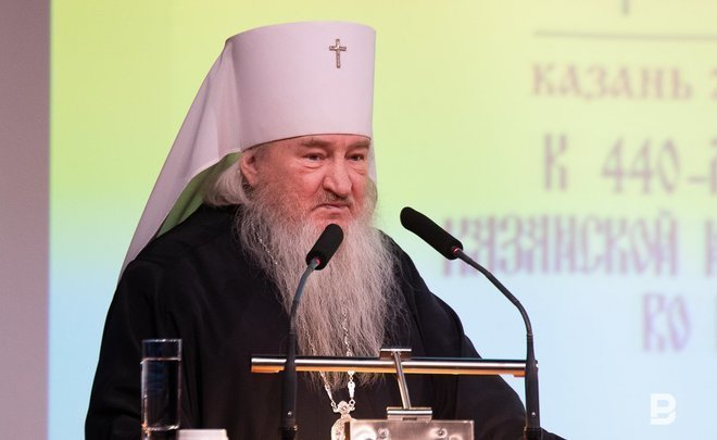 Metropolitan Feofan tells 'about what he is sick at heart' and asks Minnikhanov to stay