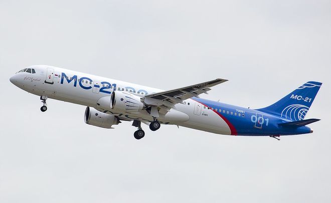 New Russian passenger plane performs successful maiden flight