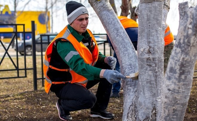 TAIF-NK employees join Nizhnekamsk's clean-up campaign