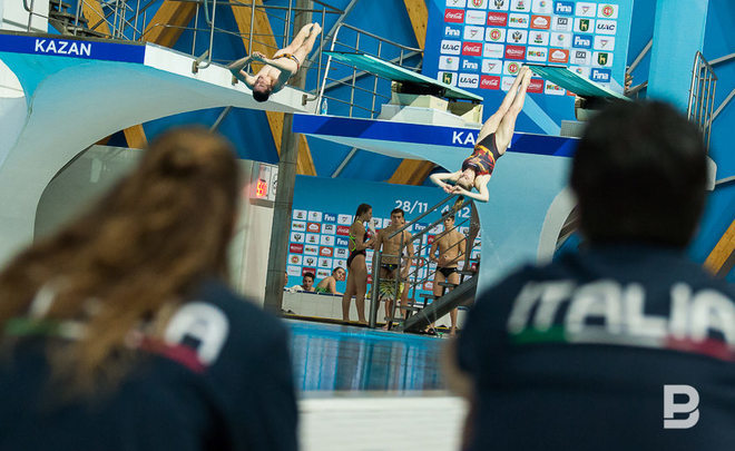 Shleikher as Russia's hope or how the World Diving Championships kicked off in Kazan