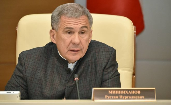 Rustam Minnikhanov: 'We know where the cheaters are. Where the salary is less than the minimum wage'