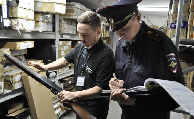 Goodbye, guns: gun shops close in Kazan by 2018 WC