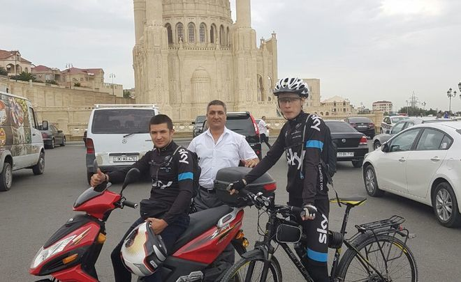 To Mecca by bicycle: ''No fatigue, a record of 189 km per day in the second week''
