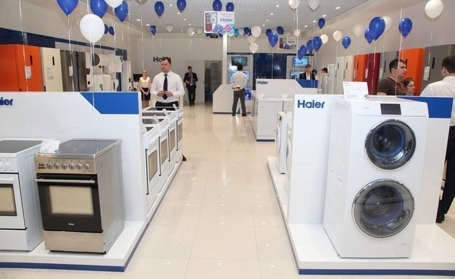 Haier slows down launching of its sales network in Russia