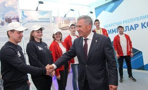 "Rustam Minnikhanov: ""The tradition to celebrate in Nizhnekamsk is well established, and I hope we will continue to meet there"""
