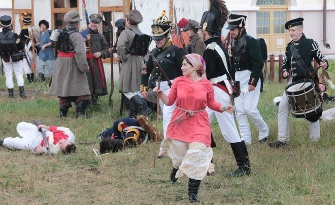 """By popularizing military history, reenactors popularize an archaic reverence for war and force"""
