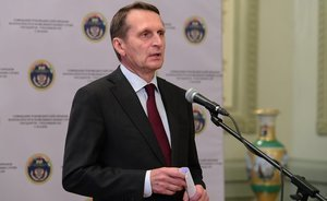 "Sergey Naryshkin: ""We should be discreet about the future relationships with Kyiv"""