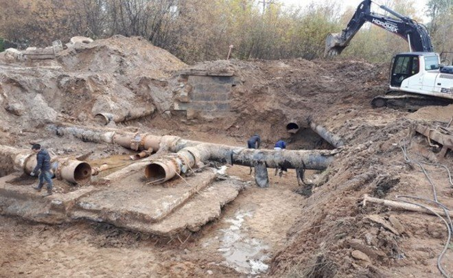 Kazanorgsintez reconstructs the conduit, using advanced technologies