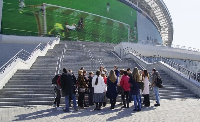 Football fans in Kazan will visit a shooting range and will plunge into Blue Lake
