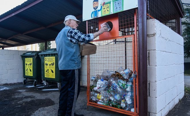 """Matter of psychology"": citizens of Kazan are taught to separate waste"