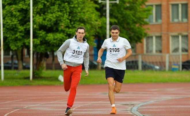 How to make employees change cigarettes for a running track?