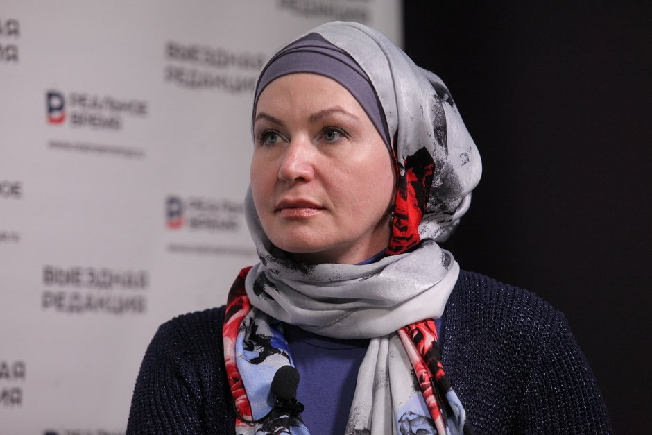 Dilara Fatkullina, the marketing consultant, corporate auditor, co-head of the Department of Women Wntrepreneurs of the Association of Muslim Entrepreneurs of the Russian Federation
