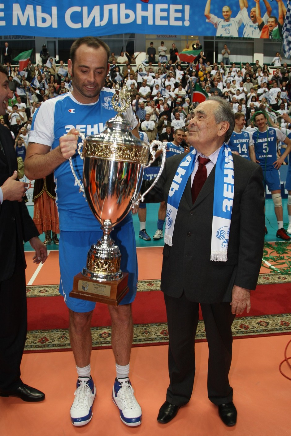 Zenit Volleyball Club — champion of Russia, 2 May 2009
