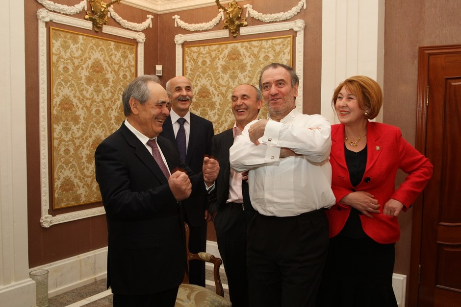 With Valery Gergiev, May 2008